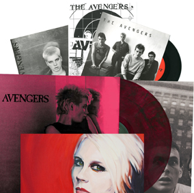 3 singles, one LP colored vinyl, Penelope LP